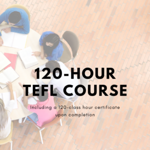 sign up for our simple online TEFL course