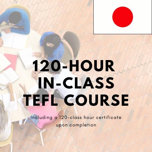 120-hour tefl Japan